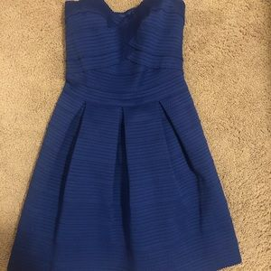 Express Strapless Formal Dress